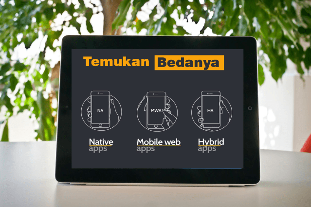 APLIKASI NATIVE, HYBRID DAN WEB